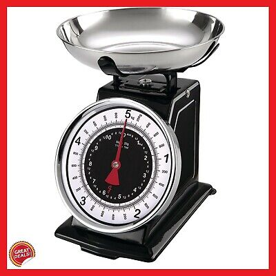 Dial Kitchen Scale Best Analog Mechanical Weighing Food Measuring Small Home