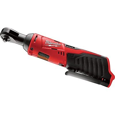 "Brand New Milwaukee 2456-20 M12 12V 12 Volt Li-ion 1/4"" Cordless Ratchet"