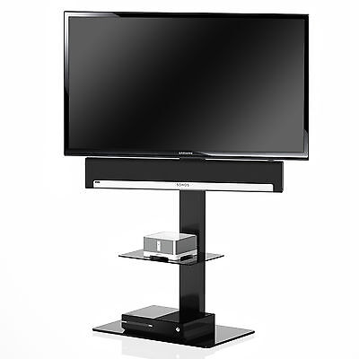 Fitueyes Swivel TV Stand With Mount Fits 32,36,42,55,60,65