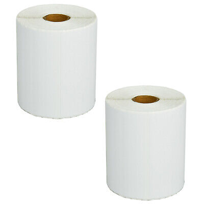 2 Roll Of 270 Rd-s02u1 Shipping White Paper Labels For Brother Td-4000 Rj-4040