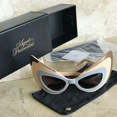 Linda Farrow Agent Provocateur Want Me Cat Eye Mask Sunglasses (Agent Provocateur Sunglasses)