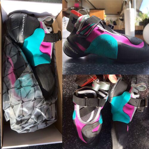 MadRock Damen Kletterschuhe Boulderschuhe NEU OVP 39,5 (37,5/38/38,5) mint pink