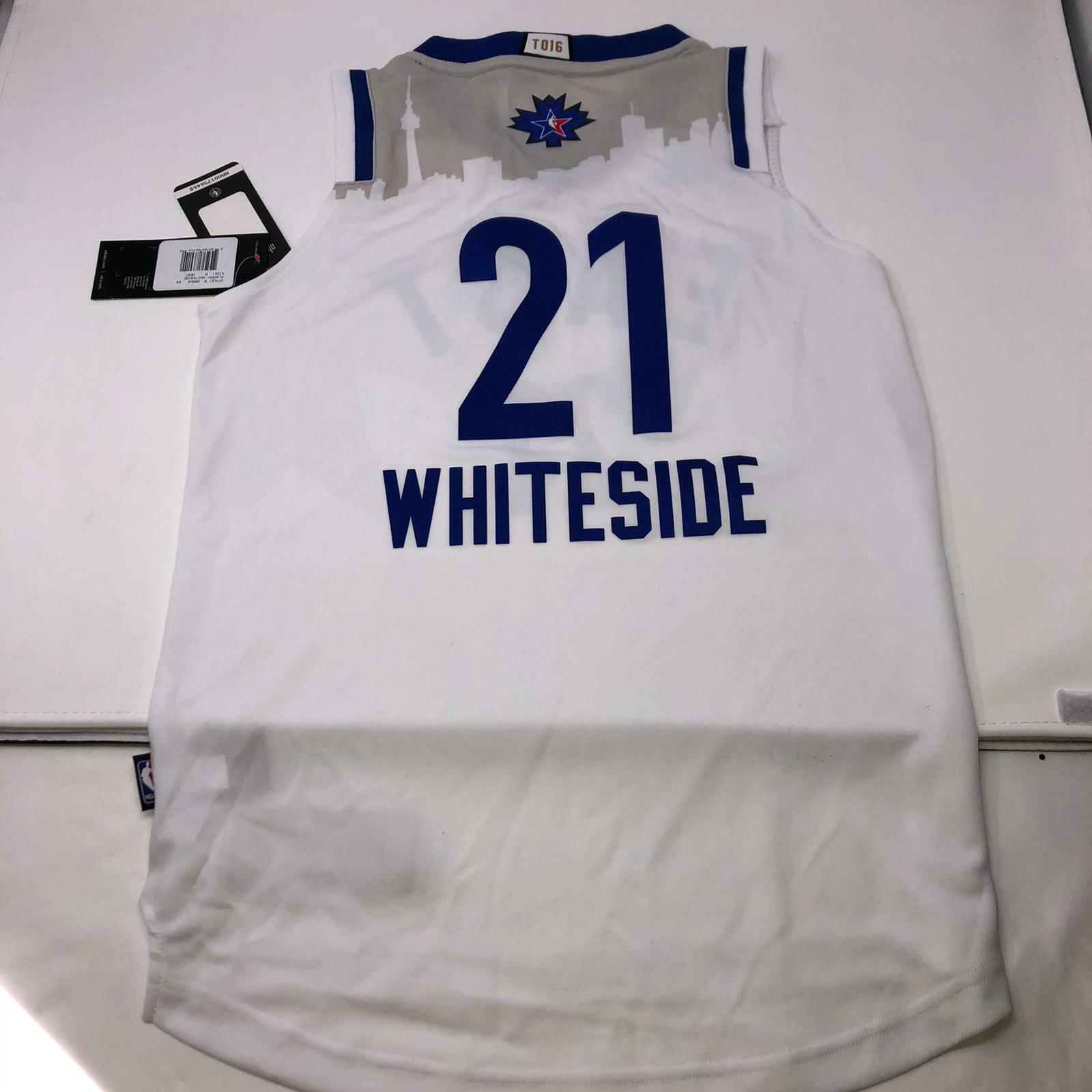 Hassan Whiteside #21 Adidas NBA Toronto All Star Game East J