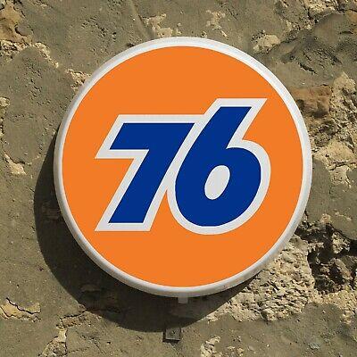 Union 76 Gasoline Led Illuminated Light Box Sign Gas Oil Station Automobilia