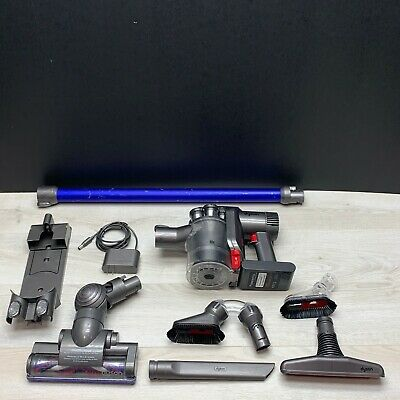 Dyson Blue DC44 Animal Slim Cordless Stick Vacuum Cleaner  w/ Charger + Tools