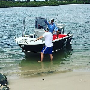 Ally Craft 4.8 metre centre console Currumbin Gold Coast South Preview