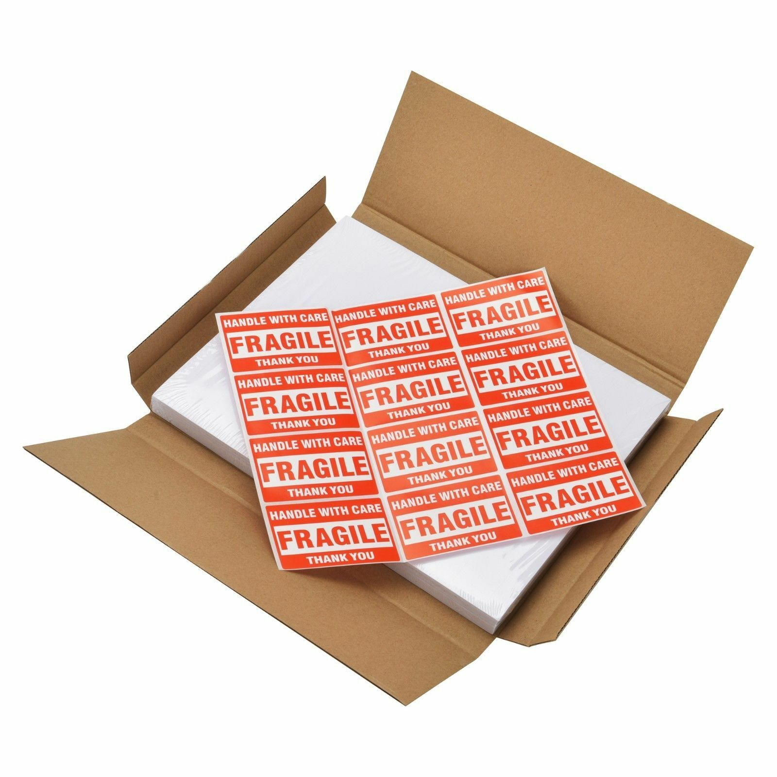 "Premium Round Corner Shipping Labels 8.5""X5.5"" Half Sheet Postage Self Adhesive"