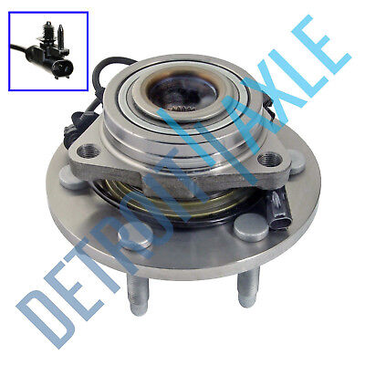 Front Wheel Bearing & Hub Assembly Chevy Silverado 1500 Escalade Yukon Tahoe 4x4 (4x4 Wheel Hub Bearing)