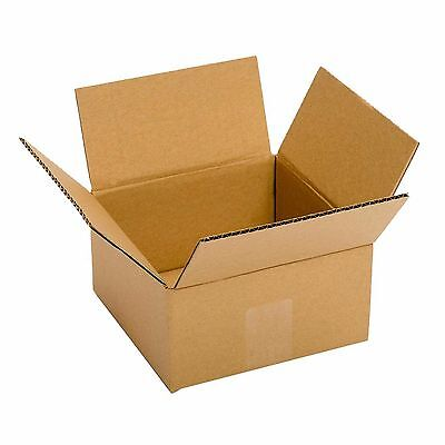 Small Cardboard Boxes 25 Pack 6x6x4 Packing Shipping Mailing Delivery Supply