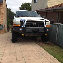 1999 Ford F250 XLT 4x4/statutory write-off Wyong Wyong Area Preview
