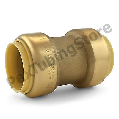 10 1 Sharkbite Style Push-fit Push To Connect Lead-free Brass Couplings