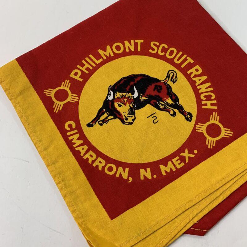 Vintage Boy Scout BSA Philmont Ranch Cimarron New Mexico Uniform Red Neckerchief