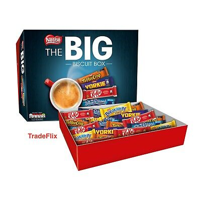 Nestle The Big Biscuit Box 71 Bars Variety Mix Assorted Chocolate Nestlé Biscuit