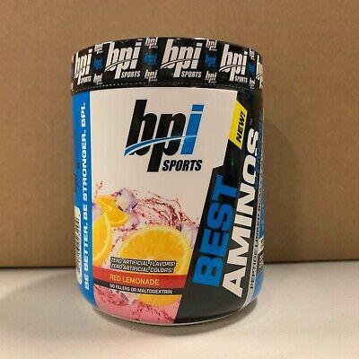 BPI Sports - BEST AMINOS w/Energy - Red Lemonade - 30 Servings - EXP: