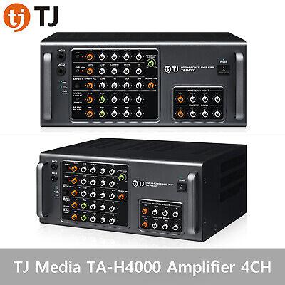 TJ Media TA-H4000 Amplifier 4CH amp 350W Maximum 1400W