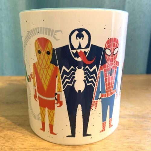 Marvel SPIDER-MAN 20 oz Ceramic COFFEE Mug Doc Ock Miles Gwen Venom Mysterio NEW