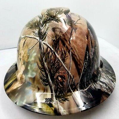 Hard Hat Full Brim Custom Hydro Dipped New Realtree Apg Camo New Best Price