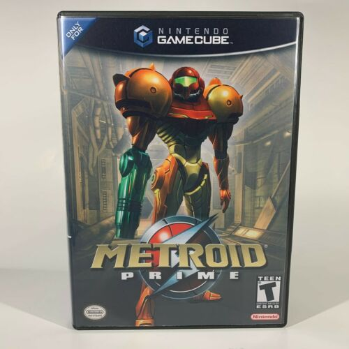 GameCube Replacement Case - Case Only NO GAME - Metroid Prime