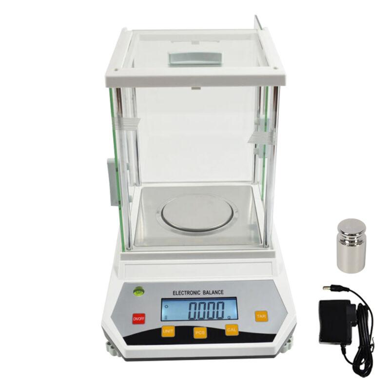 Analytical Balance Lab Digital Electronic Precision Scale 0.1mg 200g x 0.001g