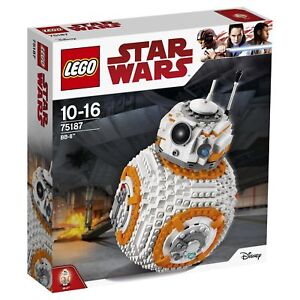 2017 LEGO  75187 STAR WARS BB-8--NEW--FACTORY SEALED