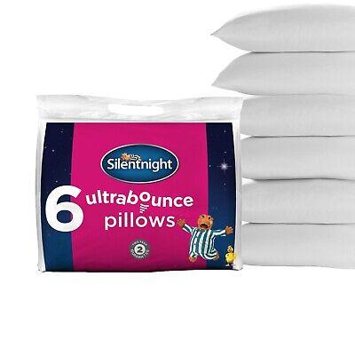 Silentnight Ultrabounce Hollowfibre Hypoallergenic Pillows 6 x pack