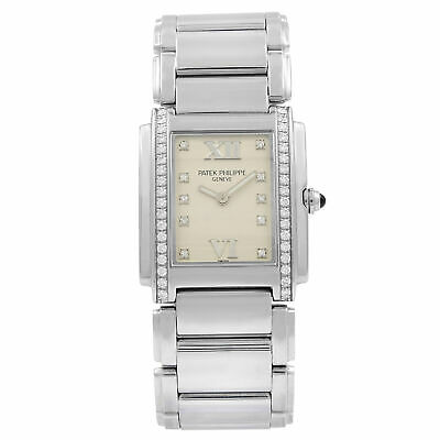 Patek Philippe Twenty-4 Diamond Quartz Ladies Watch 4910-10A-011