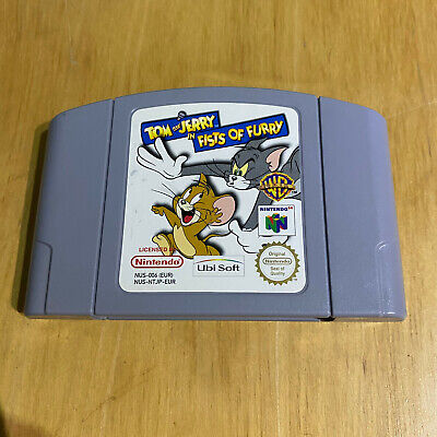 N64 Nintendo 64 - Tom and Jerry in Fists of Furry