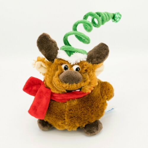 Christmas Spinning Musical Plush Reindeer VIDEO Kids of America Jingle Bells