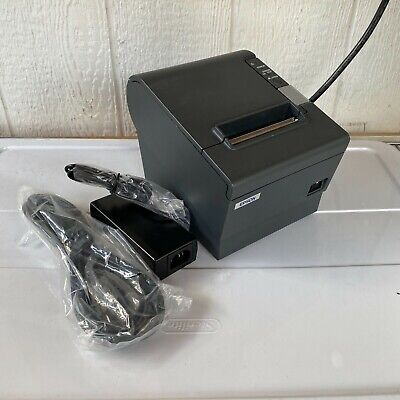 Epson Tm-t88iv M129h Direct Thermal Point Of Sale Receipt Printer Ethernet