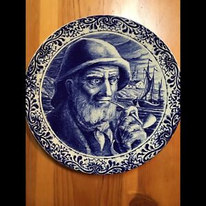 DELFT FISHERMAN HANGING PLATE