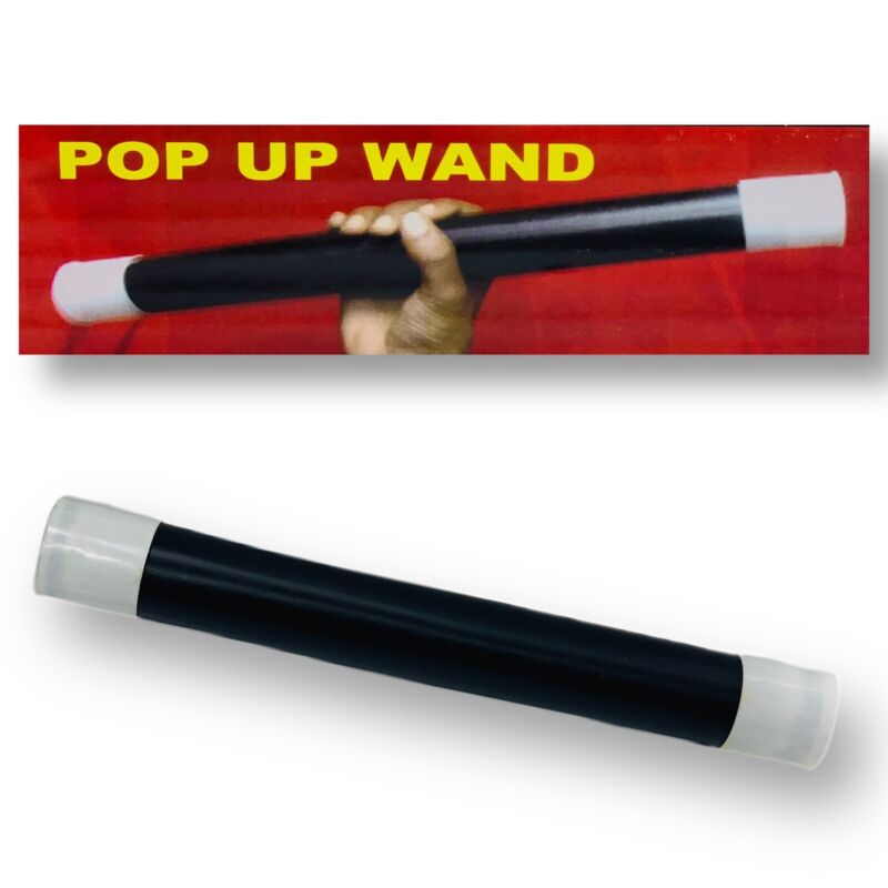 POP OUT WAND  Get Kids Attention Gag Magic Prop Works Great Comedy Kids Crowd