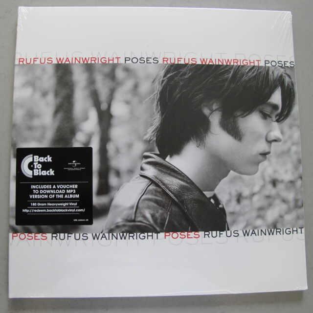 RUFUS WAINWRIGHT - Poses ***180gr-Vinyl-2LP + MP3-Code***NEW***sealed***