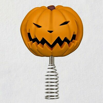 Hallmark 2020 Miniature Pumpkin King Tree Topper Nightmare Before Christmas NIB