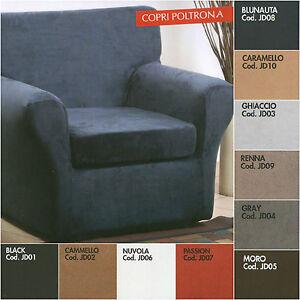 Copridivano 3 posti alcantara x divano max cm 220 - Copricuscino divano ...