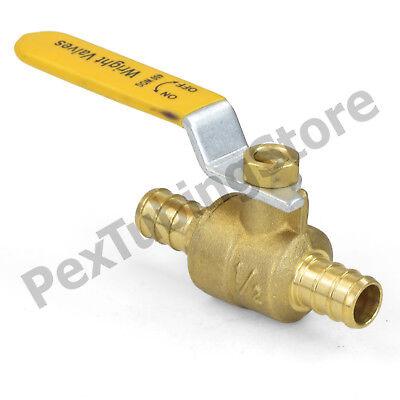 100 12 Pex Shut-off Brass Ball Valves Full Port