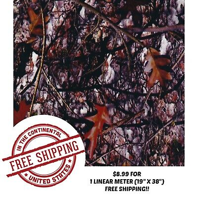 Hydrographic Water Transfer Hydro Dip Film Tree Camo 21 1m 19 X 38