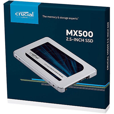 Crucial 2TB 2.5 Inch SATA III Internal SSD 2T 2 TB MX500 Solid State Drive