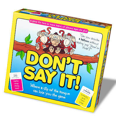 Dont Say It! Board Game Kids Word Learning Vocabulary Educational Fun 6+ for sale  Shipping to Nigeria