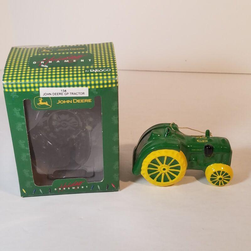 John Deere 134 GP Tractor Christmas Tree Ornament Enesco