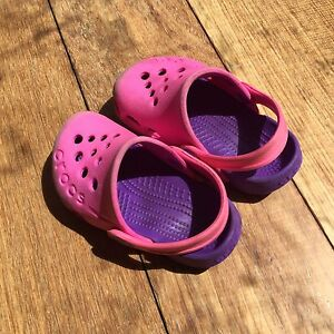 baby girl crocs Size 5 Doncaster East Manningham Area Preview