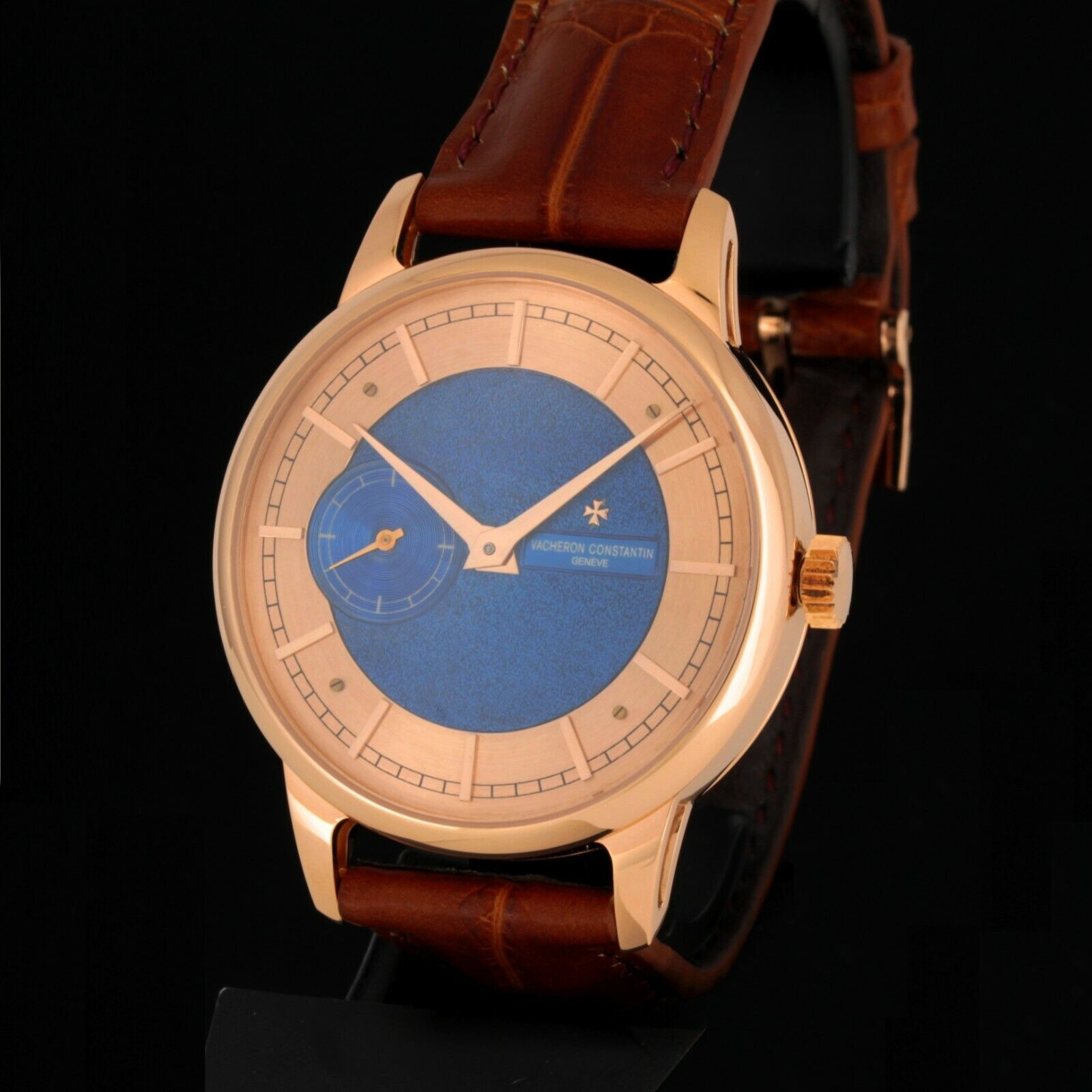 ANTIQUE VACHERON CONSTANTIN HIGH GRADE 15 JEWELS WATCH MOV, 14K SOLID GOLD CASE - watch picture 1