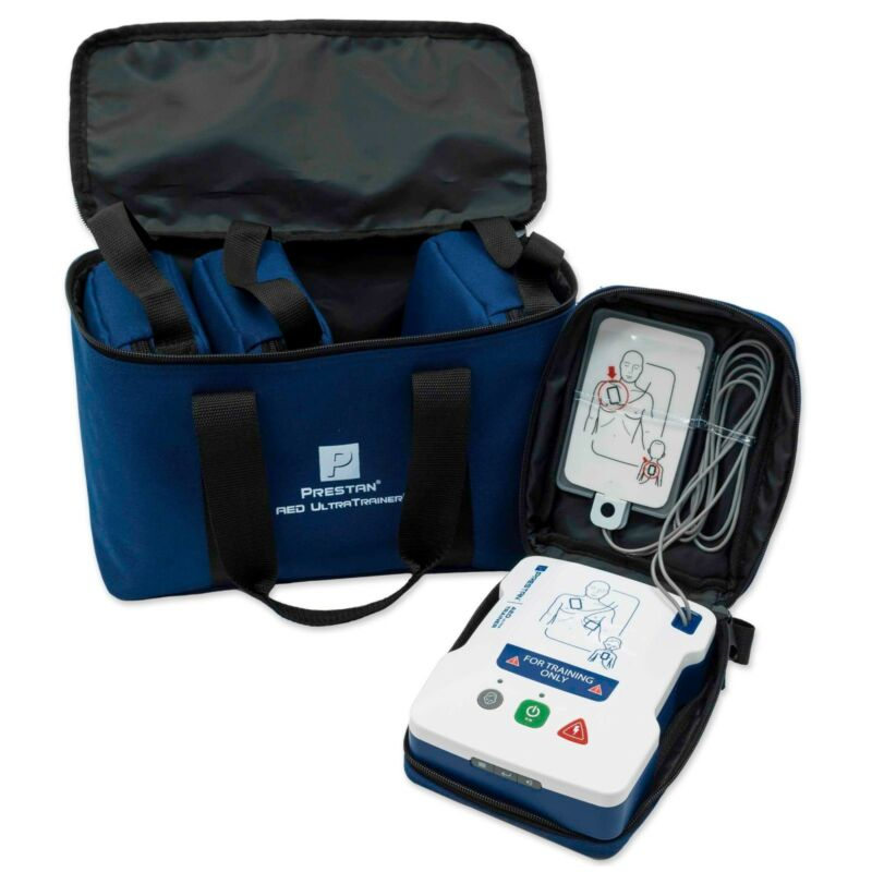 4-Pack Prestan AED UltraTrainer -Reliable & Affordable AED Trainers PP-AEDUT-401