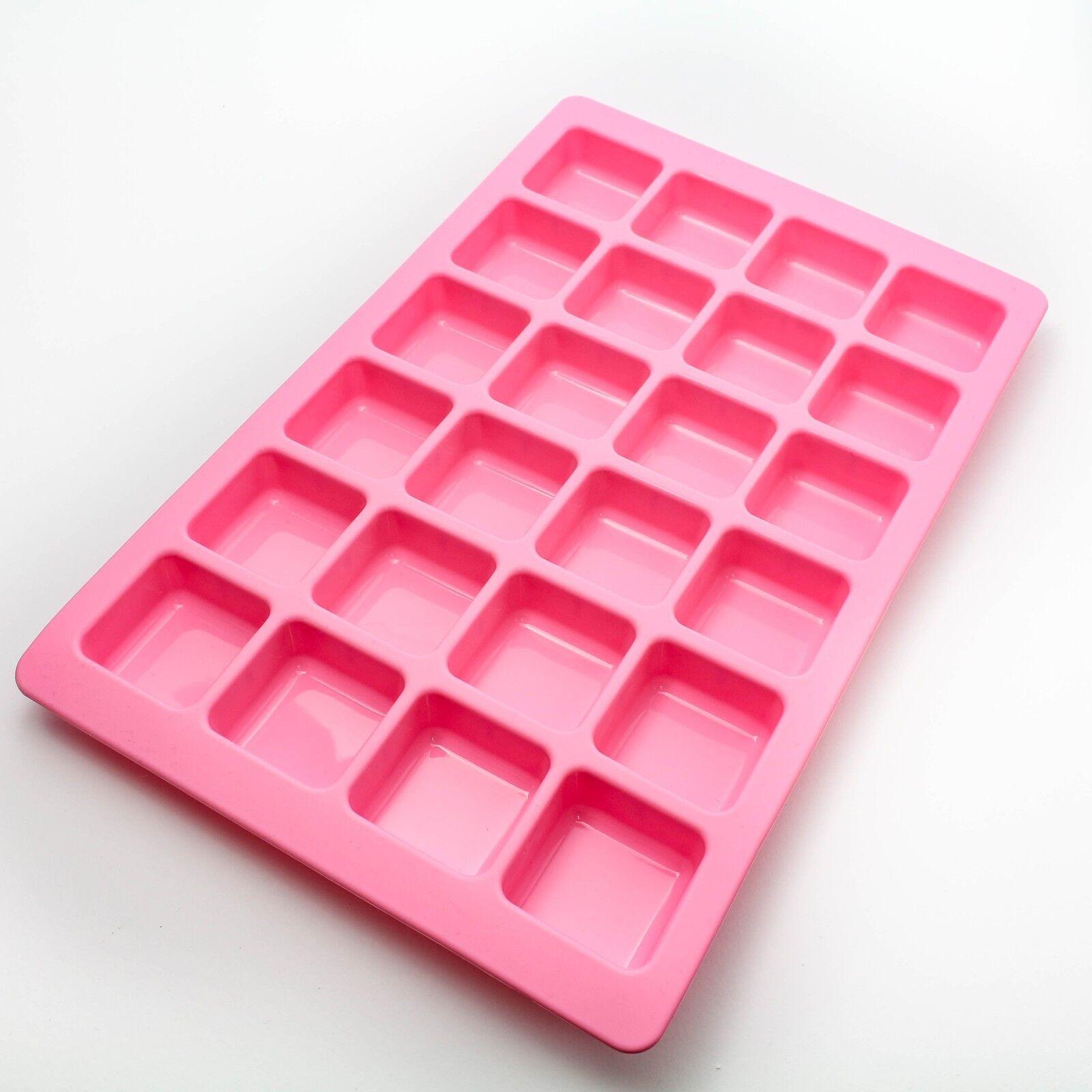 Silikon Backform für 24 Minikuchen - Minitörtchen Muffinform Eis Kuchen Backen