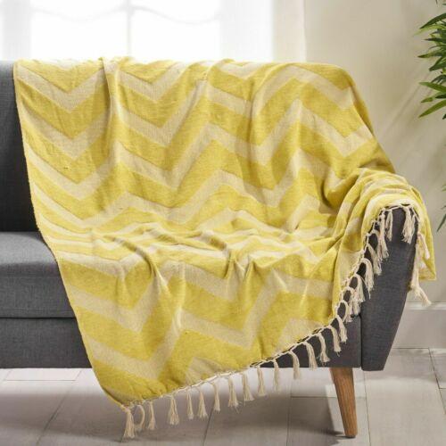 Jamyra Hand Loomed Throw Blanket Bedding