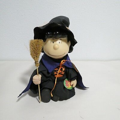 Gemmy Dancing Peanuts Lucy with Witch Costume  Halloween Musical Animated Used  - Peanuts Lucy Costume