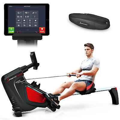 RSX500 Rudergerät Heimtrainer mit App Steuerung Rower Rudermaschine