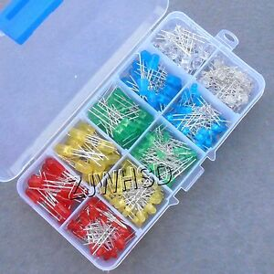 300pcs-3mm-5mm-LED-Light-White-Yellow-Red-Green-Blue-Assorted-Kit-DIY-LEDs-Set