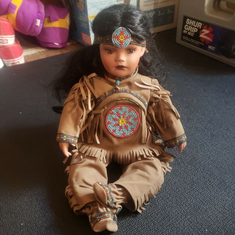 Indian timeless Limited addition 20 inch Doll Sitting