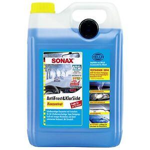 SONAX 03325050  AntiFrost&KlarSicht Konzentrat 5 l