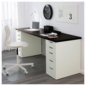 IKEA desks assembled